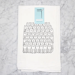 Cat Lover Kitchen Flour Sack Towel